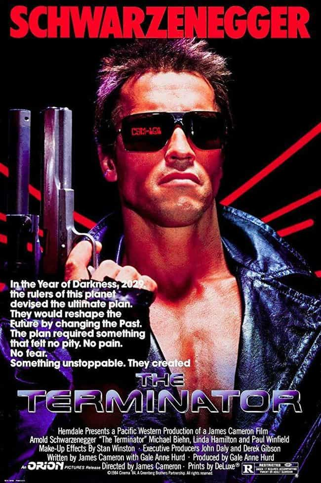 The Terminator is listed (or ranked) 2 on the list The Best Movies In The 'Terminator' Franchise