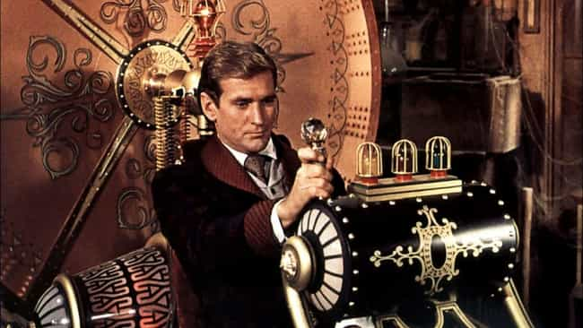 The Time Machine is listed (or ranked) 4 on the list The Best Fictional Time Machines (As Opposed To Real Ones)