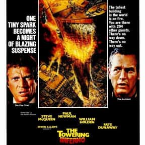 The Towering Inferno is listed (or ranked) 20 on the list The Greatest Disaster Movies of All Time