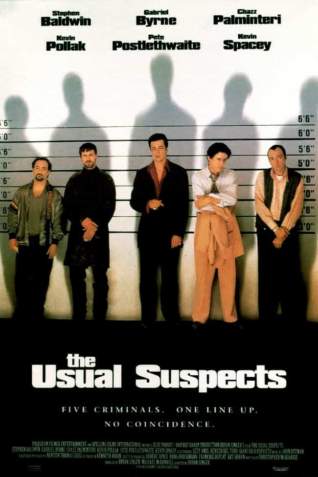 The Usual Suspects is listed (or ranked) 4 on the list What to Watch If You Love 'The Blacklist'