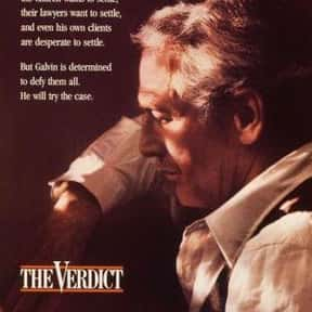 The Verdict is listed (or ranked) 7 on the list The Best Courtroom Drama Movies