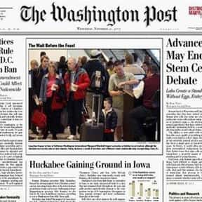 The Washington Post is listed (or ranked) 6 on the list The Best News Apps for Your Smartphone