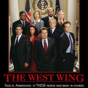 The West Wing is listed (or ranked) 7 on the list The Greatest TV Dramas of All Time