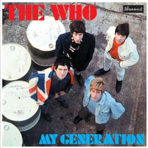 """My Generation"" - The Who - 19 is listed (or ranked) 16 on the list The 50 Greatest Albums Released Between 1960 - 1969"