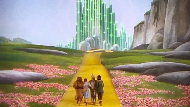 The Wizard of Oz is listed (or ranked) 4 on the list 52 Still Shots from Movies That Are Pretty Much Works of Art