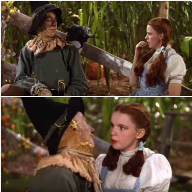 The Wizard of Oz is listed (or ranked) 1 on the list The Biggest Continuity Errors You Never Noticed In Huge Movies
