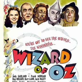 The Wizard of Oz is listed (or ranked) 25 on the list The Greatest Film Scores of All Time