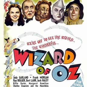 The Wizard of Oz is listed (or ranked) 13 on the list Musical Movies With the Best Songs
