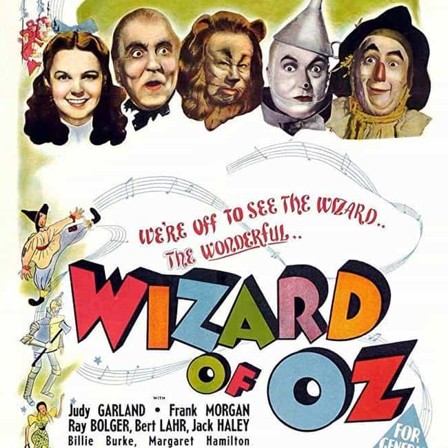 The Wizard of Oz is listed (or ranked) 3 on the list The Most Colorful Movies Ever Made