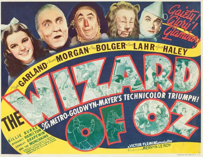 The Wizard of Oz is listed (or ranked) 1 on the list 14 Movies Tim Burton Has Given His Personal Stamp Of Approval