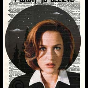 The X-Files is listed (or ranked) 25 on the list Things That Aren't Nerdy Anymore