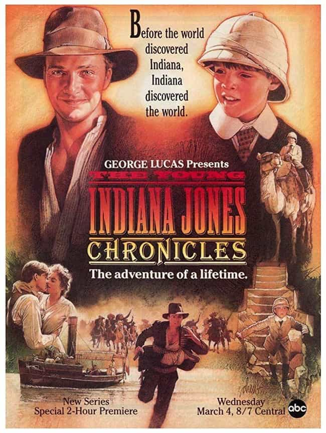 The Young Indiana Jones Chroni... is listed (or ranked) 4 on the list The Best Movies (and Series) in the Indiana Jones Franchise, Ranked