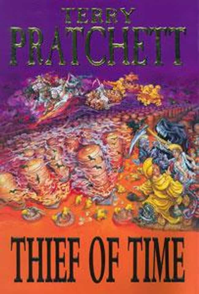 Thief of Time is listed (or ranked) 2 on the list My Top 20 Terry Pratchett Books