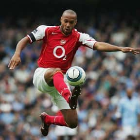 Thierry Henry is listed (or ranked) 10 on the list The Best French Soccer Players & Footballers of All Time