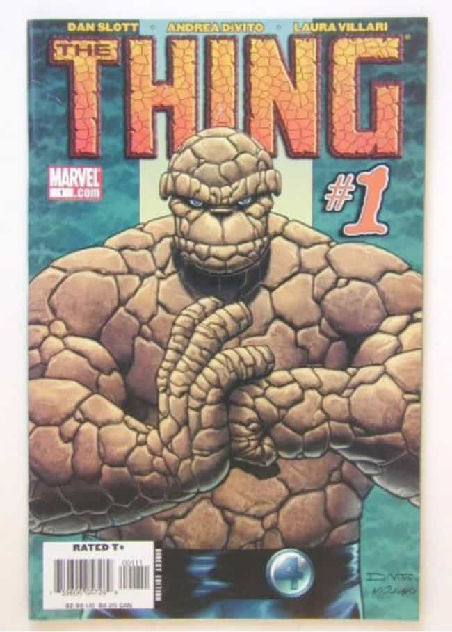 Thing is listed (or ranked) 3 on the list The Best Jewish Comic Book Characters