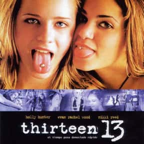 Thirteen is listed (or ranked) 15 on the list The Best Movies About Teenage Girl Friendships
