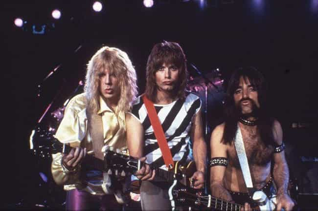 This Is Spinal Tap is listed (or ranked) 2 on the list Fictional Metal Bands That Are More Metal Than Real Metal Bands