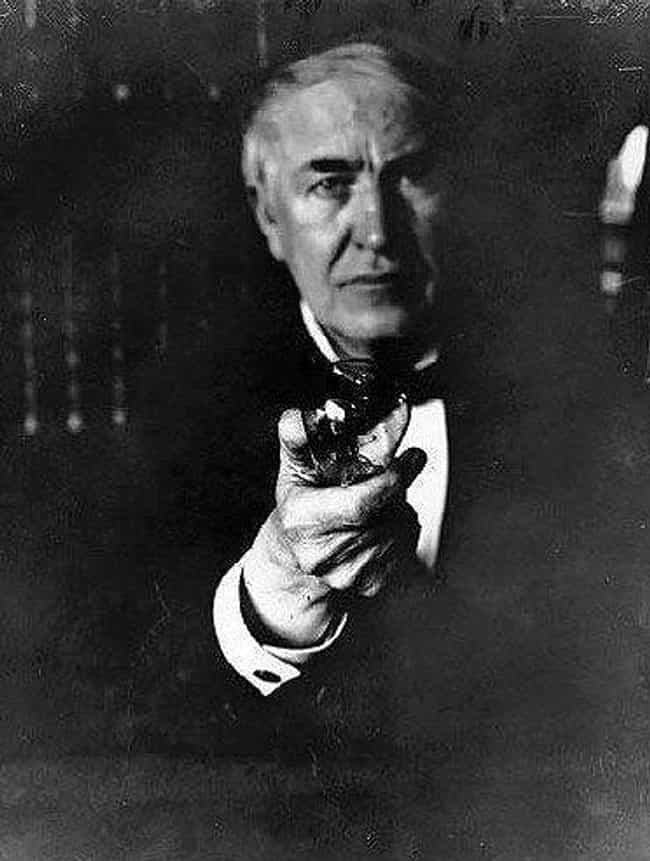 Thomas Edison is listed (or ranked) 3 on the list World-Changers Who Survived Childhood Diseases