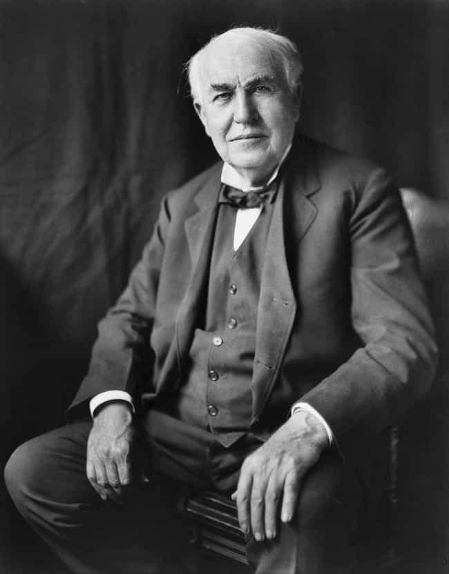 Thomas Edison is listed (or ranked) 1 on the list 23 Brilliant People Who Struggled With Addiction
