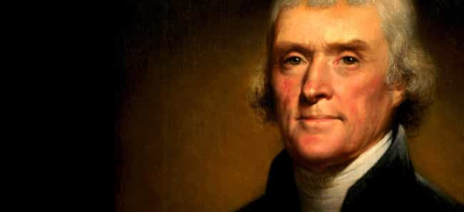 Thomas Jefferson is listed (or ranked) 4 on the list 11 Celebrities Who Play Cello