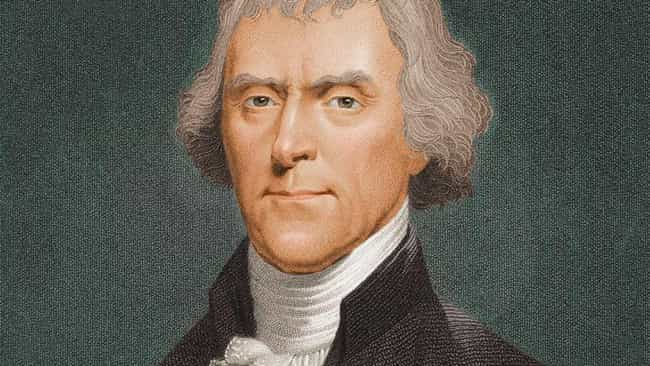 Thomas Jefferson is listed (or ranked) 4 on the list 19 Celebrities Who Play Violin