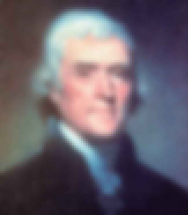 Thomas Jefferson is listed (or ranked) 2 on the list Famous Aries Celebrities