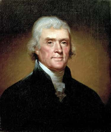 Thomas Jefferson is listed (or ranked) 2 on the list Famous Male Architects