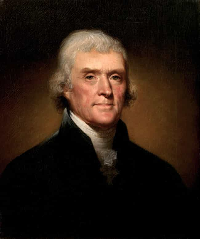 Thomas Jefferson is listed (or ranked) 4 on the list 17 Celebrities Who Play Violin