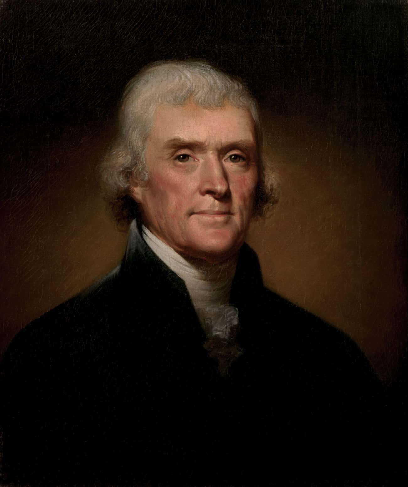 Thomas Jefferson is listed (or ranked) 3 on the list Every U.S. President & Every Medical Problem They've Ever Had