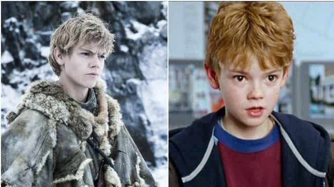 Thomas Sangster is listed (or ranked) 4 on the list Game of Thrones Actors Who Have Been in Romcoms
