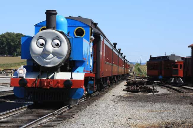 Thomas the Tank Engine & Frien... is listed (or ranked) 4 on the list 14 Ludicrously Well-Thought-Out Fan Theories About Shows For Children