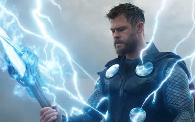 Thor is listed (or ranked) 1 on the list Which MCU Hero Would Win In An All-Out Battle?