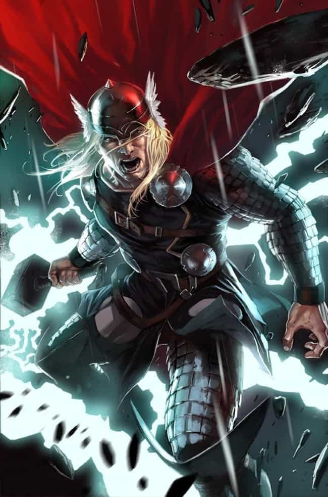 Thor is listed (or ranked) 2 on the list The 15 Best Superheroes With The Power to Absorb Energy