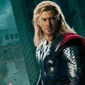 Thor is listed (or ranked) 25 on the list The Best Movie Characters Of All Time