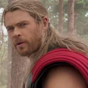 Thor is listed (or ranked) 1 on the list The Best Fictional Characters You'd Leave Your Man For