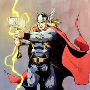 Thor is listed (or ranked) 2 on the list The Best Comic Book Superheroes Of All Time
