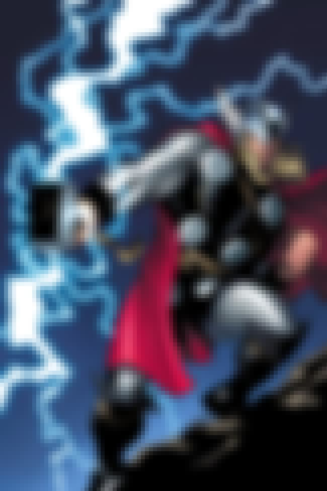 Thor is listed (or ranked) 4 on the list Superheroes who Are Physicians