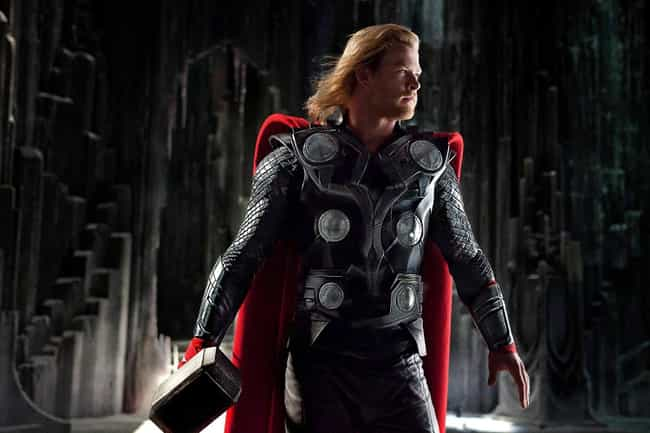 Thor is listed (or ranked) 3 on the list What Your Favorite MCU Character Says About You