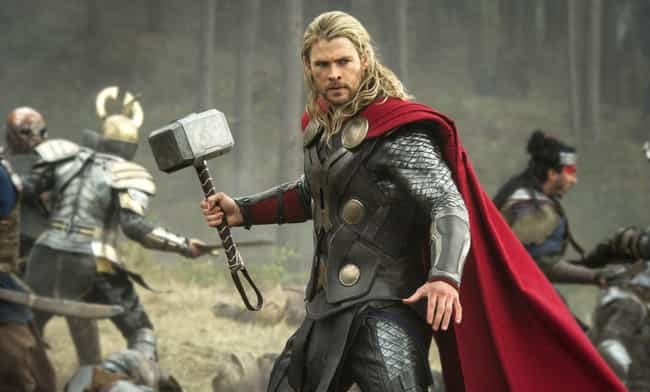 Thor is listed (or ranked) 1 on the list Which Hogwarts House Would Each Avenger Be Sorted Into?