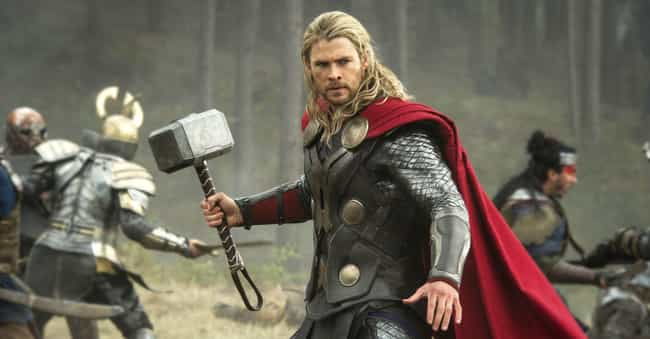 Thor is listed (or ranked) 1 on the list The Strongest Characters In The MCU, Ranked