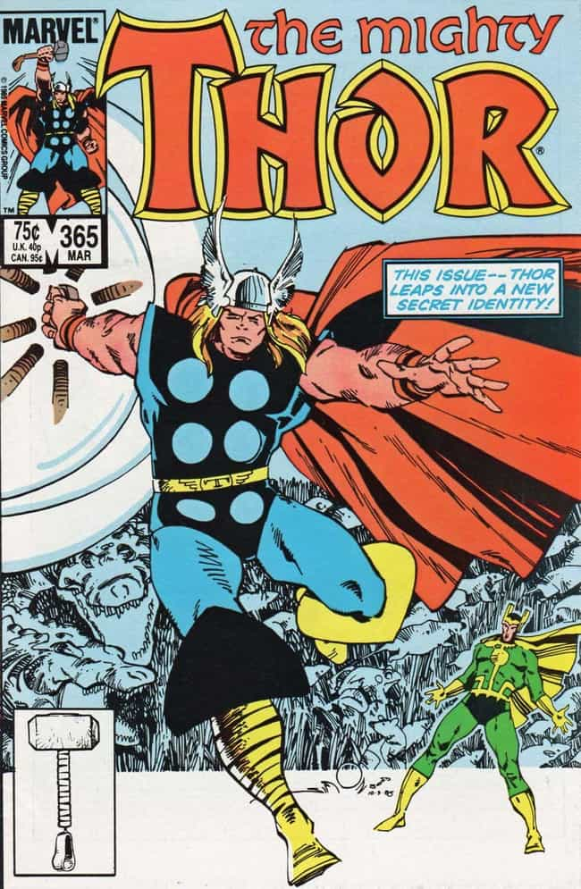 Thor is listed (or ranked) 4 on the list The Most Impractical Footwear Sported By Superheroes