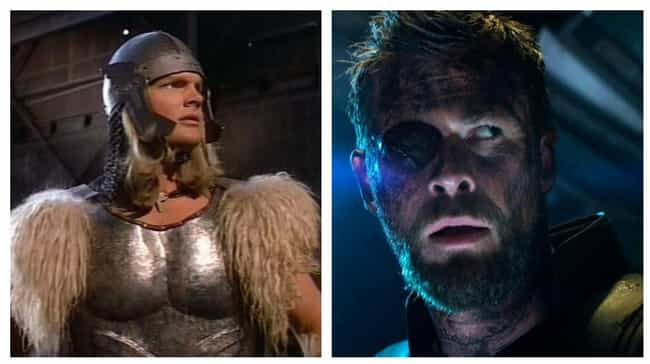 Thor is listed (or ranked) 3 on the list The Best Superhero Evolution on Film