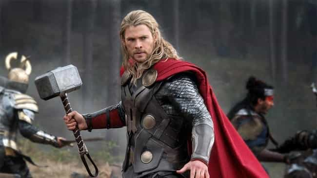 Thor is listed (or ranked) 2 on the list Which 'Avengers' Power Do You Want Most?