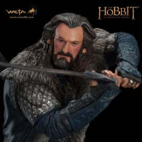 Thorin Oakenshield is listed (or ranked) 7 on the list The Coolest Characters in Middle-Earth