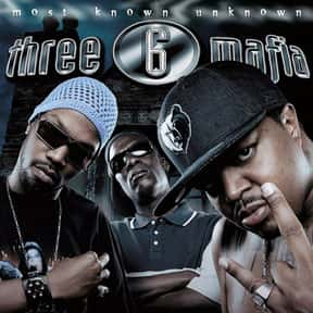 Three 6 Mafia is listed (or ranked) 1 on the list The Best Rappers From Tennessee