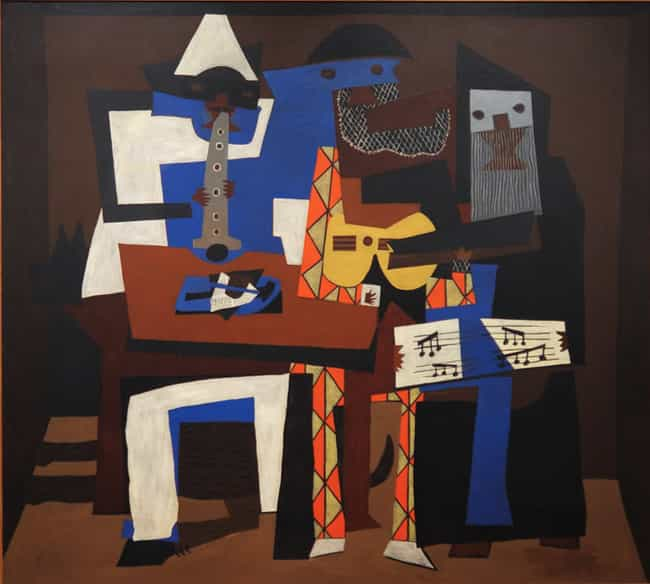 Three Musicians is listed (or ranked) 3 on the list Pablo Picasso's Greatest Works of Art