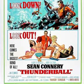 Thunderball is listed (or ranked) 18 on the list The Best Spy Movies