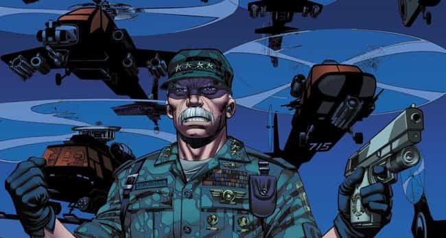 Thunderbolt Ross is listed (or ranked) 1 on the list Popular Comic Book Characters Who Probably Vote Republican