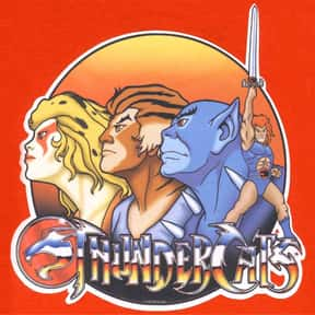 ThunderCats is listed (or ranked) 2 on the list The Most Unforgettable '80s Cartoons
