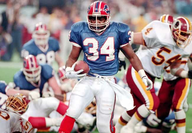 Thurman Thomas is listed (or ranked) 2 on the list The Worst Super Bowl Plays of All Time